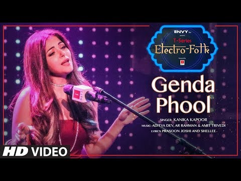 Download ELECTRO FOLK: Genda Phool | Kanika Kapoor, Jubin Nautiyal | Aditya Dev | T-Series hd file 3gp hd mp4 download videos
