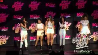 Fifth Harmony Performing LIVE At Kiss 108 Fm Kiss Concert 2014!
