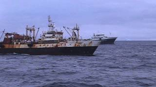 Polish and Norwegian krill fishing trawlers (90s 2012) v2