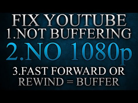 Fix YouTube not buffering, no 1080p and more !