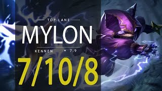 ~~~~~~Deixe o seu like, se inscreva e comente!!~~~~~~~~~~dogla la dogla League of Legends ReplayMylon as KENNEN TOP - Season 7Patch 7.9Runas e Talentos: http://matchhistory.br.leagueoflegends.com/pt/#match-details/BR1/1076533027/208872703?tab=builds&participant=4