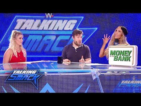 Carmella gloats after her Money in the Bank victory: WWE Talking Smack, June 27, 2017 (WWE Network)_Sport videók