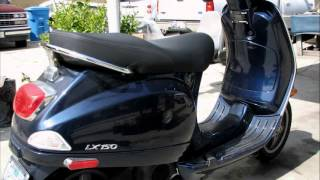 6. vespa lx 150 reviewn - 2007 Vespa LX 150 - Quick Overview