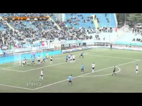 Novara-Arezzo 1-0, le immagini della partita