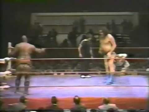 Andre the Giant vs Kamala 1/2/84 Ft Worth