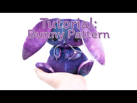 How to Make a Bunny Plush