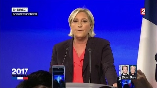 "Video ""Présidentielle 2017"" : réaction de Marine Le Pen (France 2) MP3, 3GP, MP4, WEBM, AVI, FLV Agustus 2017"