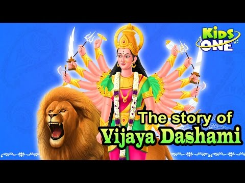 The Story of Vijaya Dashami | Cartoon Animation