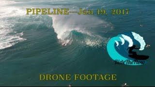 Pipeline, North Shore 15-20 ft+ .........Jan 19, 2017 Drone Footage (Phantom 4) Subscribe For Shore Clip Edit ALOHA Please Like,...