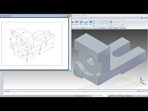 Solid Edge Synchronous Technology Tutorial for Beginners - 1