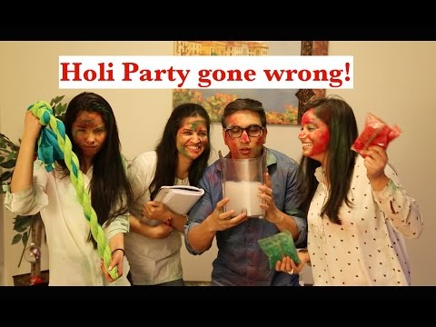 Holi Party gone Wrong - | Lalit Shokeen Comedy |