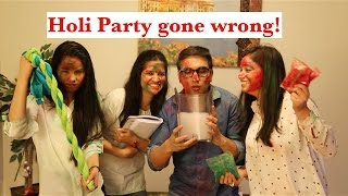 Video Holi Party gone Wrong - | Lalit Shokeen Comedy | MP3, 3GP, MP4, WEBM, AVI, FLV Maret 2018