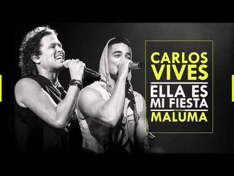 Carlos Vives y Maluma presentan 'Ella es mi fiesta'