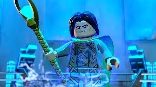 Lego Marvels Avengers Part 1 The Avengers Movie Walkthough A Loki Entrance