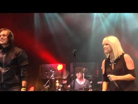 Godoj - Luxuslärm performen zusammen mit Thomas Godoj am 30.08.2014 ihren Song