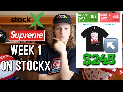 Supreme F/W '18 Week One on StockX (Highest Resell Items) (видео)
