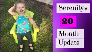 my big girl is 20 months! check out her previous update below!18 month update https://youtu.be/9cHInh4glZ8