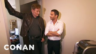 Video Conan Busts Jordan Schlansky & His Elitist Espresso Machine - CONAN on TBS MP3, 3GP, MP4, WEBM, AVI, FLV Februari 2019