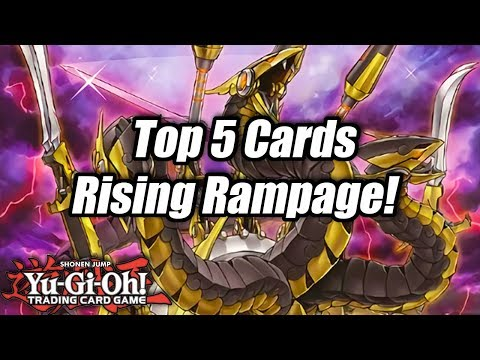 Yu-Gi-Oh! Top 5 Cards from Rising Rampage!