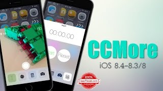 CCMore : Tweak adds new features to iOS Control Center - iOS 8 / 8.4 - 8.3, ios 9, ios, iphone, ios 9 ra mat