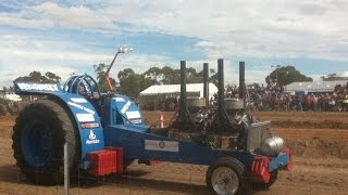 Keith Australia  city photo : Tractor Pull , header demolition and figure 8 race - Keith South Australia
