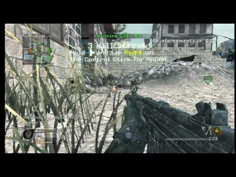 call of duty modern warfare wii comment jouer a 2