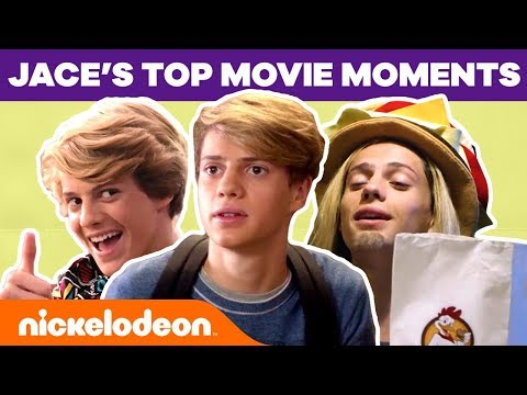 FUNNIEST Jace Norman Movie Moments 🎬Ft. Splitting Adam, Blurt & More! | Nick