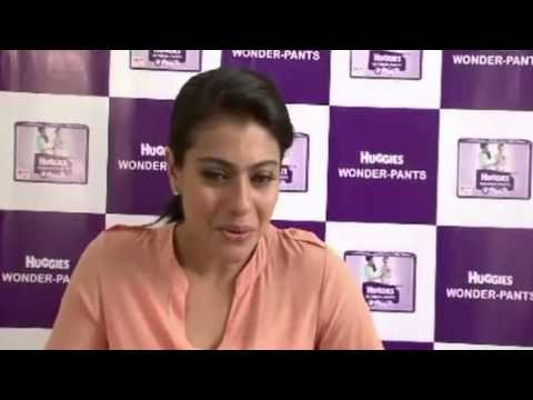 kajol - Footage of behind the scenes of a new TVC AD for Huggies Wonder Pants shot by actress Kajol. The footage includes bytes from Kajol where she talks about her ...
