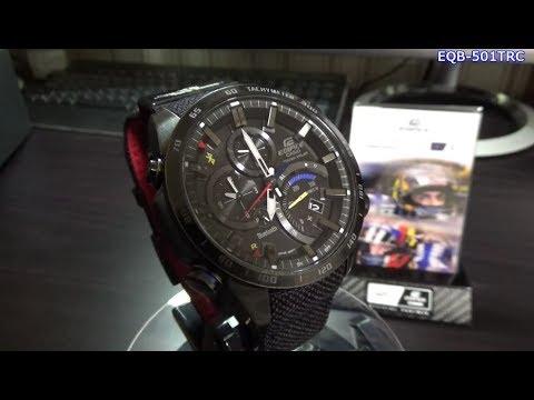 CASIO EDIFICE  Scuderia Toro Rosso Limited Edition (видео)