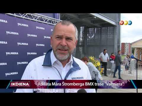 """Atklāta """"Māra Štromberga BMX trase """"Valmiera"""""""""""