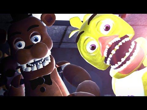 The fnaf movie gmod five nights at freddy s animatronics mod