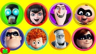 Video Disney The Incredibles 2 and Hotel Transylvania Play Doh Surprises MP3, 3GP, MP4, WEBM, AVI, FLV Oktober 2018