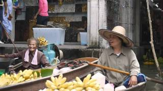 Part 6 Singapore And Bangkok HD: Maeklong Station, Floating Market, Bangkok
