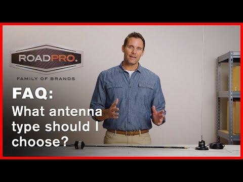 CB Radio FAQ #7 - What type of antenna should I choose?