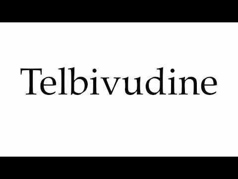 How to Pronounce Telbivudine