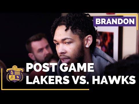 Video: Brandon Ingram On Whether LaVar Ball's Comments Affect The Lakers Locker Room