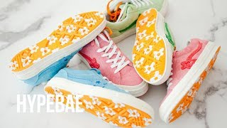 Tyler The Creator's GOLF Le FLEUR* Converse One Star Unboxing