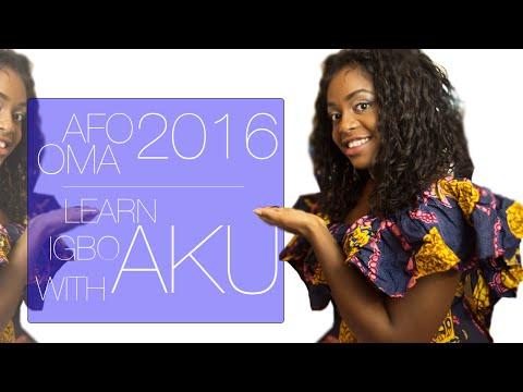 Learn Igbo with Aku |  Aho Oma