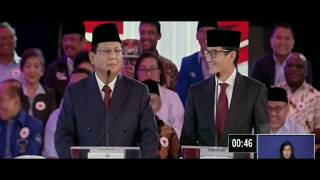 Video DEBAT PILPRES 2019 | Prabowo Joget MP3, 3GP, MP4, WEBM, AVI, FLV Januari 2019