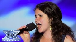 Khaya Cohen Sings Her Heart Out - THE X FACTOR USA 2013
