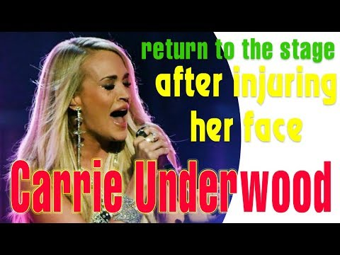 Carrie Underwood makes powerful return to the stage after injuring her face || News World Today