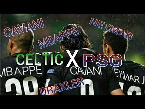 CELTIC 0 X 5 PSG - NARRAÇÃO MIL GRAU - UEFA CHAMPIONS LEAGUE