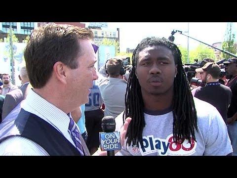 Sammy Watkins Interview 5/7/2014 video.