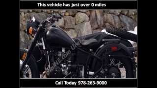 7. 2013 Ural Retro New Motorcycles Boxborough MA