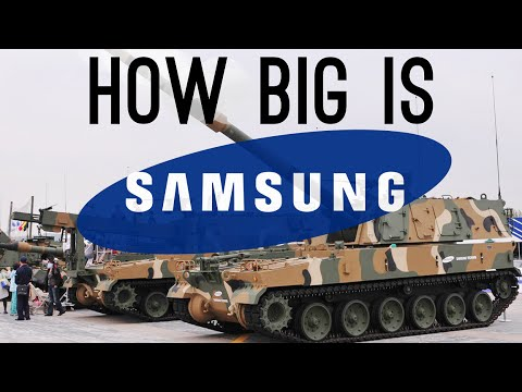 Just how big is Samsung? Turns out, ridiculously HUGE.