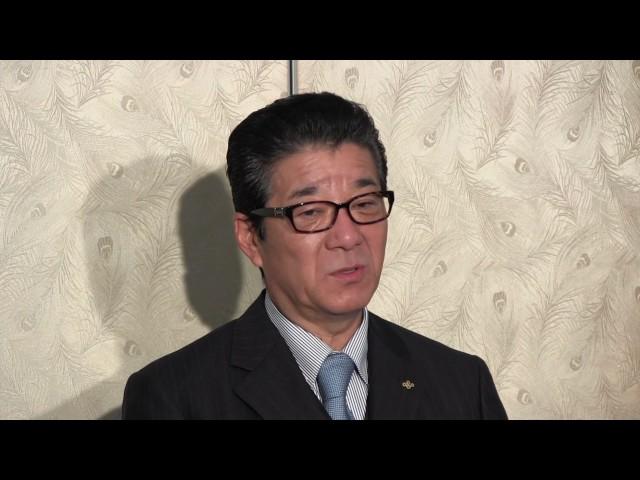 2016年12月13日(火) 松井一郎知事 登庁会見