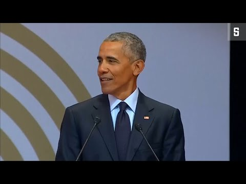 Mandelas 100. Geburtstag: Obama hält Rede, mit Anspie ...