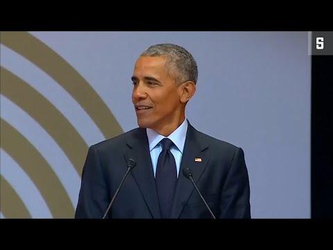 Mandelas 100. Geburtstag: Obama hält Rede, mit Ansp ...