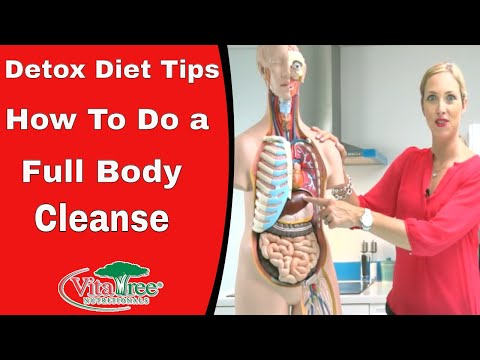 Detox Diet Tips : Full Body Cleanse : Liver Cleanse,  Heavy Metal Detox – VitaLife Show Episode 150