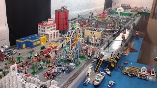 Video LEGO City Complete Overview--Over 300 Square Foot Layout MP3, 3GP, MP4, WEBM, AVI, FLV Oktober 2018
